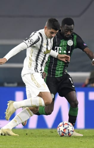 Juventus - Ferencvaros | Morata: «A very important victory»