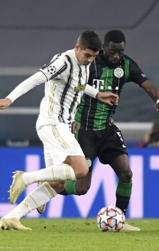 Juventus - Ferencvaros | Morata: «Un successo molto importante»