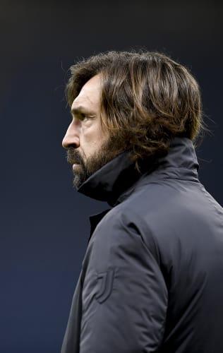 Coach Pirlo presents Juventus - Genoa