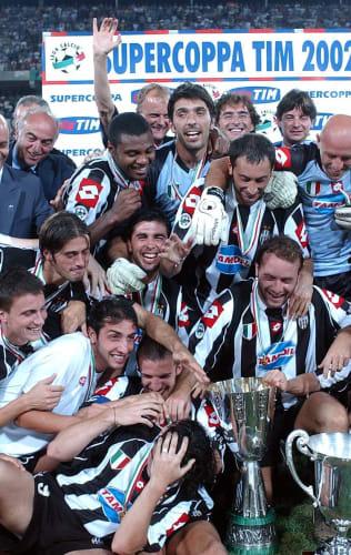 Supercoppa Italiana   Il trionfo in Libia del 2002
