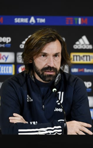 Le parole di Pirlo alla vigilia di Juventus-Bologna
