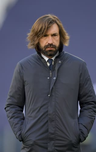 Coach Pirlo presents Juventus - SPAL