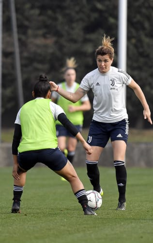Women | Bianconere at work ahead of Sunday's match against Pink Bari