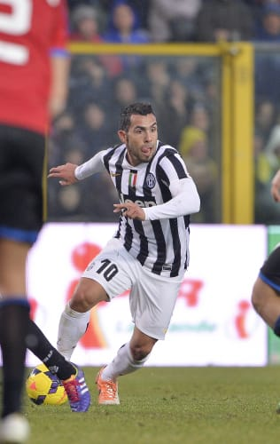 Key players | Atalanta-Juventus: Carlos Tevez, three goals in two games