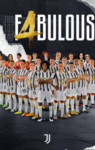 #F4BULOUS! JUVENTUS WOMEN ARE THE CHAMPIONS OF ITALY!