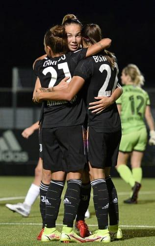 Women   UWCL   Round 2 - Second Leg   Juventus - Vllaznia