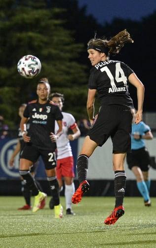 """UWCL   Juventus Women - Vllaznia   Pedersen: """"We're happy"""""""