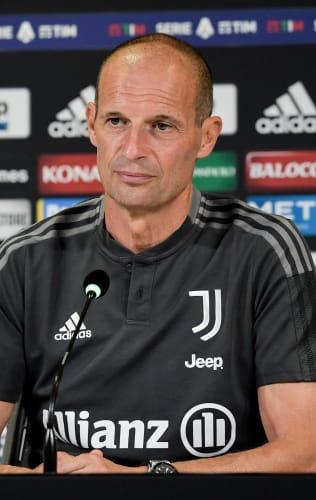 Coach Allegri previews Juventus - Milan