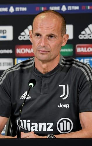 Mister Allegri presenta Spezia - Juventus