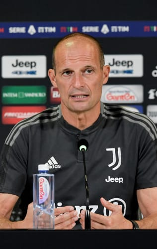 Mister Allegri presenta Juventus - Sampdoria