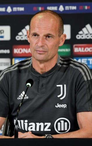 Coach Allegri previews Juventus - Sampdoria