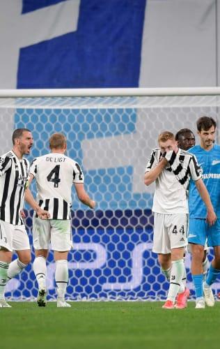 Zenit - Juventus   The words of Kulusevski and de Ligt