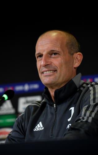 Mister Allegri presenta Juventus - Sassuolo